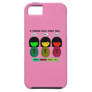 Kokeshiの人形が話すことができれば iPhone SE/5/5s ケース