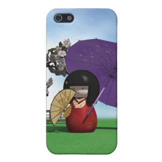 Kokeshiの人形 iPhone 5 Cover