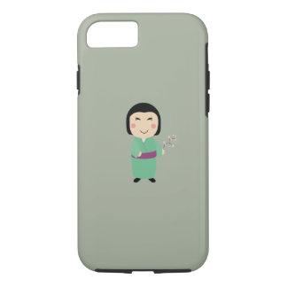 kokeshiの人形 iPhone 8/7ケース