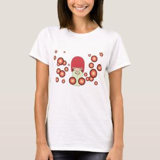 Kokeshiの人形 Tシャツ
