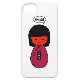 Kokeshiの女の子Hmph! iPhone SE/5/5s ケース