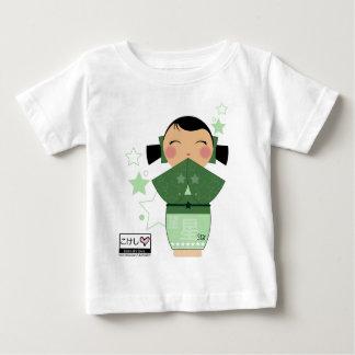 Kokeshiの星のベビーのティー ベビーTシャツ