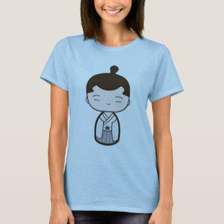 Kokeshiの武士 Tシャツ