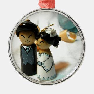Kokeshiの結婚式I メタルオーナメント