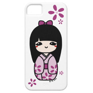 Kokeshiの電話箱(マゼンタ) iPhone 5 カバー