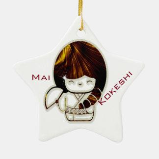 Kokeshi Mai セラミックオーナメント