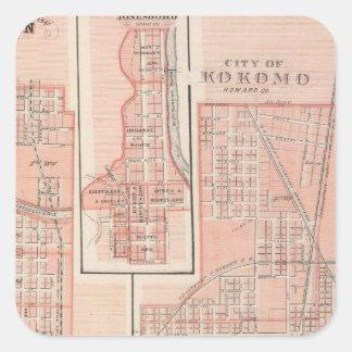 Kokomo市、マリオンを持つハワードCo スクエアシール