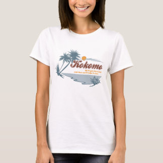 Kokomo 80sの大衆文化のレトロのグラフィック tシャツ
