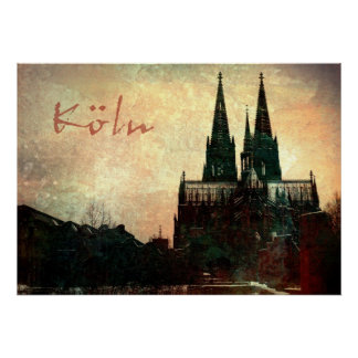 Kölner Dom ポスター