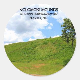 KOLOMOKIの小山- Blakely、ジョージア ラウンドシール