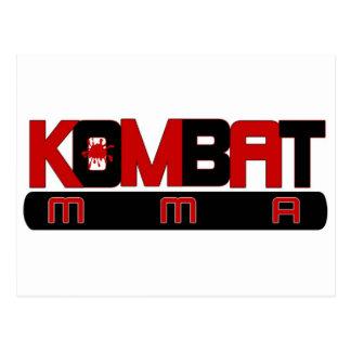KOMBAT MMA ポストカード