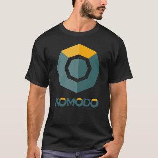 Komodo暗号のBlockchain KMDのワイシャツ Tシャツ