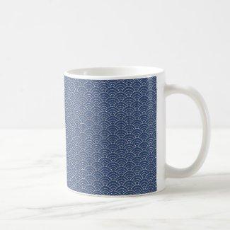 KON - Traditional Japanese design Mug 紺色-こんいろ-マグカッ コーヒーマグカップ