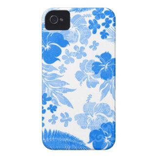 Konaはハイビスカスの白いiPhoneを4つのケース時間を計ります Case-Mate iPhone 4 ケース