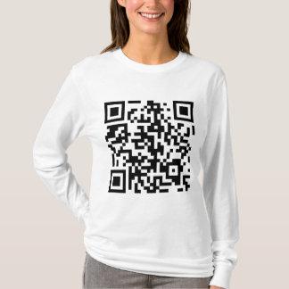 KonamiコードQRコード Tシャツ