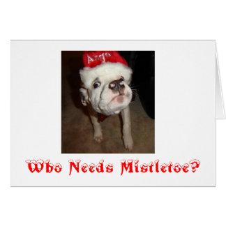 Konasmooshfaceはのだれヤドリギを必要としますか。 -カスタマイズ カード