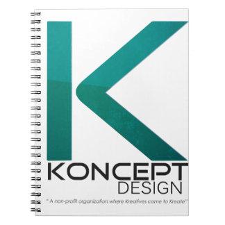 KONCEPTのデザイン ノートブック