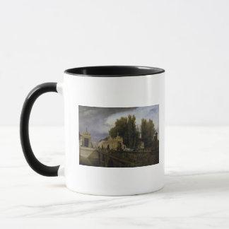 Konigsstrasse、ベルリン1835年のKonigsbrucke マグカップ