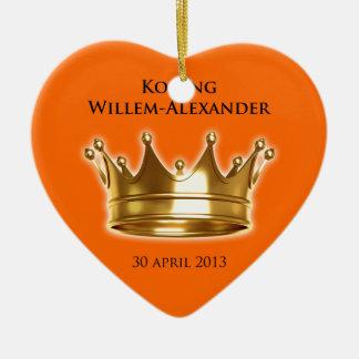 Koningウィレムアレキサンダー セラミックオーナメント
