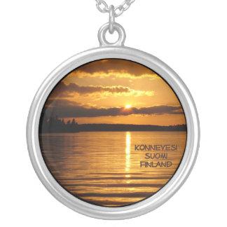 Konnevesiのネックレス シルバープレートネックレス