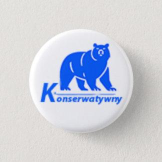Konserwatywnyのパーティーのロゴ 缶バッジ