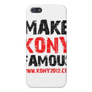 Konyを有名に- Kony 2012年作って下さい iPhone 5 Case