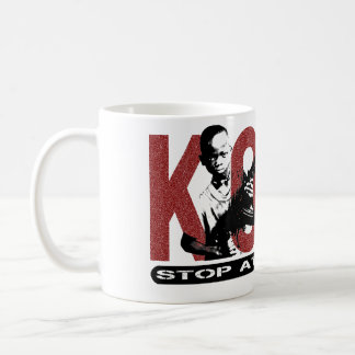 KONY -何もの停止。 子供の兵士 コーヒーマグカップ