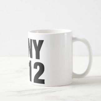 Kony 2012の黒い文字 コーヒーマグカップ
