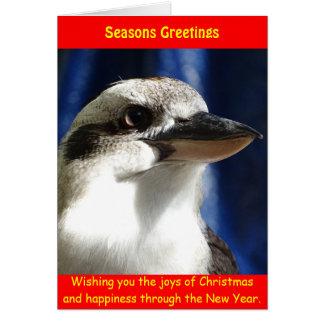 Kookaburraのクリスマスカード カード