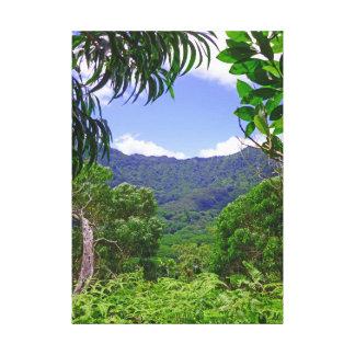 Koolau山 キャンバスプリント