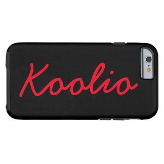 Koolioのりんごのiphoneの堅い場合のデザインのsmartphone ケース
