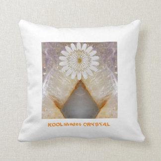 KOOLshadesの水晶大理石のヴィンテージの寺院の芸術 クッション