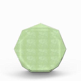 KOOLshades薄緑の水晶HealingSTONE 表彰盾