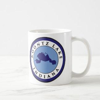 Koontz湖、インディアナ コーヒーマグカップ
