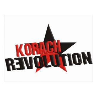 Korachの改革 ポストカード