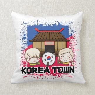 Koreatown韓国の町の枕 クッション