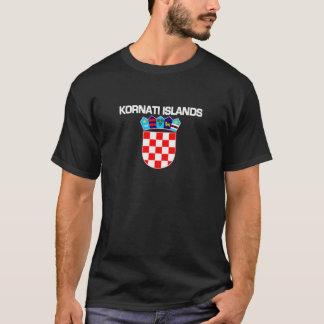 Kornatiの島、クロアチア Tシャツ