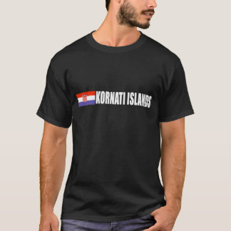 Kornati、クロアチア Tシャツ