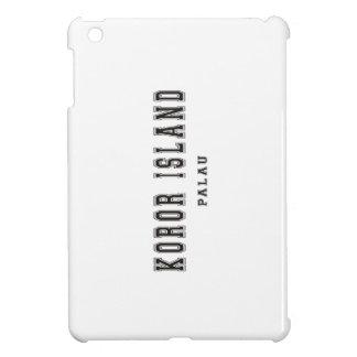 Kororの島パラオ諸島 iPad Miniカバー