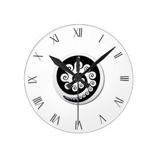koruの時計2 ラウンド壁時計