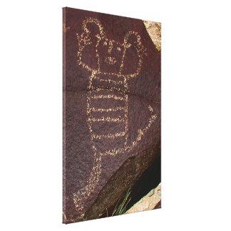 Koshariのピエロのダンサーの岩石彫刻 キャンバスプリント