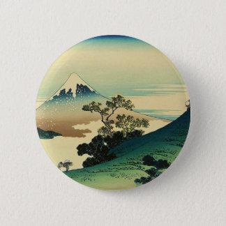 Koshu Inume Toge - Katsushika Hokusai Ukiyo-eの芸術 缶バッジ