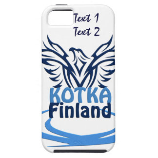 KotkaフィンランドのカスタムなiPhone 5の穹窖 iPhone SE/5/5s ケース
