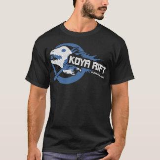 Koyaの切れ間(G2) (暗闇)の青 Tシャツ
