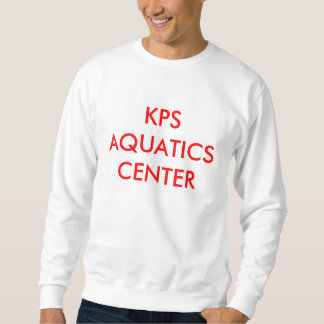KPSの水中競技の中心 スウェットシャツ