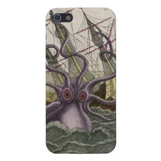 KrakenかタコEatting海賊船、色 iPhone 5 ケース
