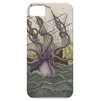 KrakenかタコEatting海賊船、色 iPhone SE/5/5s ケース