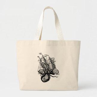 Krakenの攻撃 ラージトートバッグ