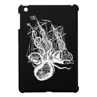 Krakenの海賊船の攻撃のipadの小型場合Steampunk iPad Miniカバー