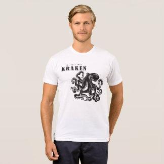 Krakenを解放して下さい Tシャツ